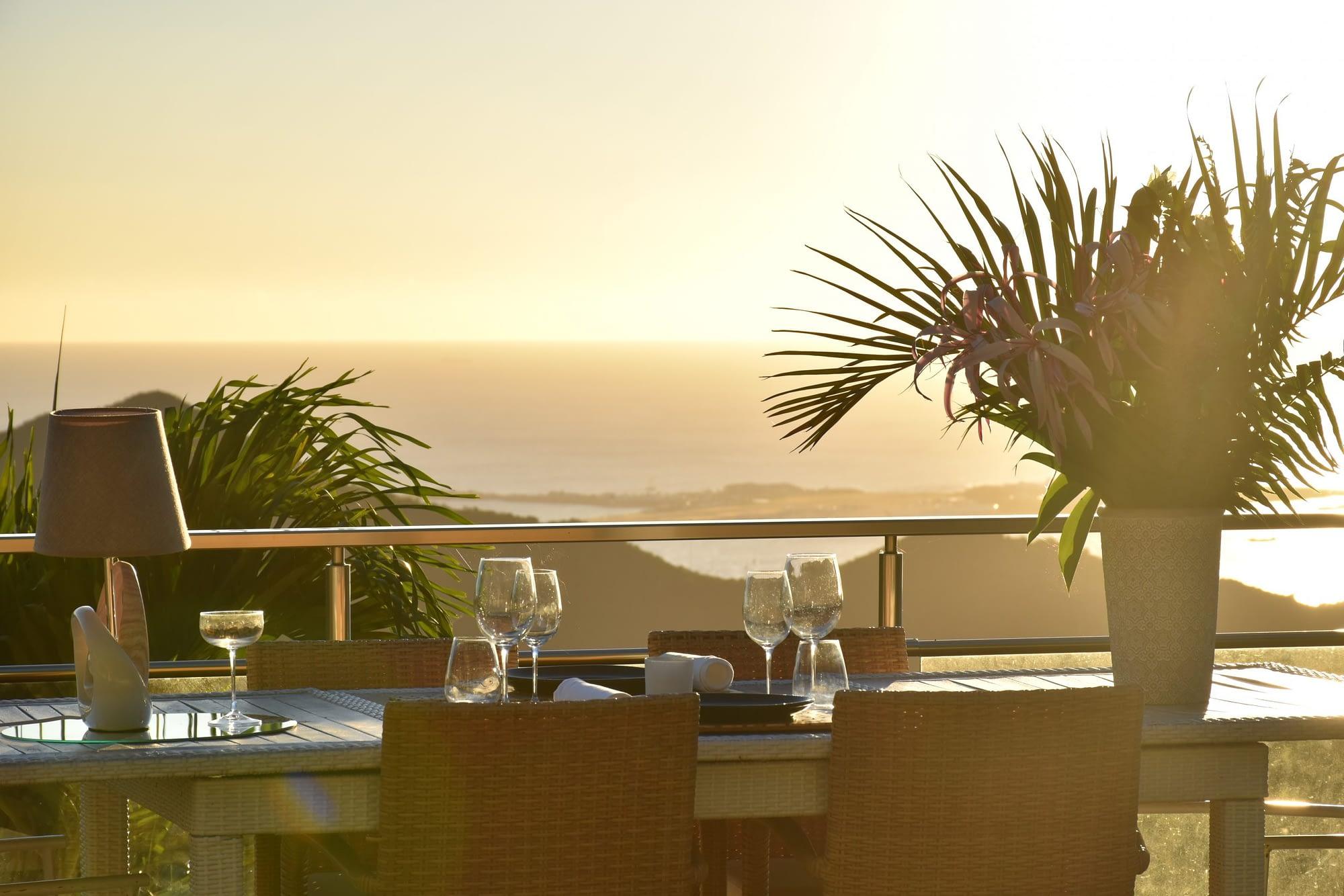 La Villa Hibiscus, la gastronomie à son sommet à Saint-Martin!