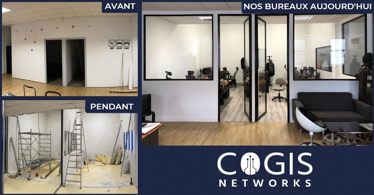 COGIS transforme ses locaux